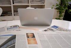 DENMARK_MAC APPLE COMPUTER Στοκ φωτογραφία με δικαίωμα ελεύθερης χρήσης