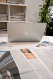 DENMARK_MAC APPLE COMPUTER Stock Image