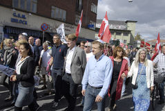 DENMARK_MARCH FOR DANISH JEWS Royalty Free Stock Image