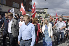 DENMARK_MARCH FOR DANISH JEWS Royalty Free Stock Photography
