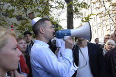 DENMARK_MARCH FOR DANISH JEWS Stock Image