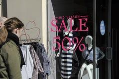 DENMARK_mid season sale Royalty Free Stock Photography
