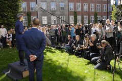 DENMARK_MINISTER CHANGES Royalty Free Stock Image
