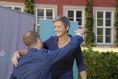 DENMARK_MINISTER CHANGES Royalty Free Stock Images