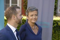 DENMARK_MINISTER CHANGES Stock Photo