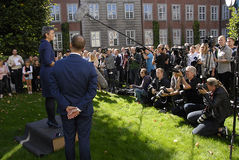 DENMARK_MINISTER CHANGES Stock Photography