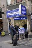 DENMARK_MONEY EXCHANGE Stock Images