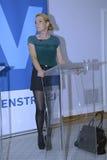 DENMARK_Ms Η INGER STOJBERG _PARTY ΜΊΛΗΣΕ ΤΗ ΓΥΝΑΊΚΑ Στοκ φωτογραφίες με δικαίωμα ελεύθερης χρήσης