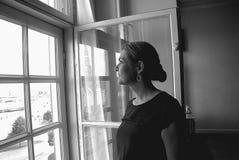 DENMARK_Ms 英格STOJBERG _PARTY轮幅妇女 免版税图库摄影