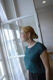 DENMARK_Ms 英格STOJBERG _PARTY轮幅妇女 图库摄影