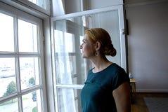 DENMARK_Ms 英格STOJBERG _PARTY轮幅妇女 免版税库存照片