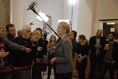 DENMARK_Ms.Helle Thorning-Schmidt_PM Royalty Free Stock Image