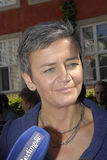 DENMARK_Ms MARGRETHE VESTAGER _NEW UE COMMISSIONER Zdjęcia Royalty Free