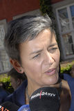 DENMARK_Ms MARGRETHE VESTAGER _NEW UE COMMISSIONER Zdjęcie Stock