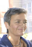DENMARK_Ms MARGRETHE VESTAGER _NEW UE COMMISSIONER Zdjęcia Stock