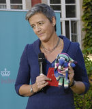 DENMARK_Ms MARGRETHE VESTAGER _NEW UE COMMISSIONER Obrazy Royalty Free