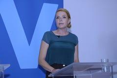 DENMARK_Ms SPEICHEN-FRAU INGER STOJBERG _PARTY Lizenzfreie Stockfotografie