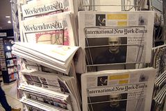 DENMARK_NEWS-STÄLLNING fotografering för bildbyråer