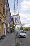 DENMARK_no zur Europäischen Gemeinschaft Stockbild