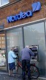 DENMARK_NORDEA BANK Royalty-vrije Stock Foto's
