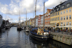 DENMARK_NYHAVN CANAL Royalty Free Stock Photo