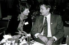 DENMARK OLOF PALME AND GRO HARLEM BRUNTLUND Stock Photos
