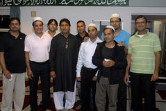 DENMARK_PAKISTANI MUSLIM CELEBRATE  RAMADAN Royalty Free Stock Photo