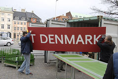 DENMARK_polish workers Stock Photo