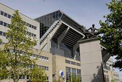DENMARK_press-Konferenz Stockfotografie