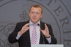 DENMARK PRIME MINISTER Royalty Free Stock Image