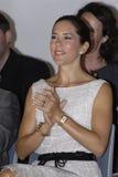 DENMARK_PRINCESS MARY BIJ JONGE GEITJES CIFF TOONT Royalty-vrije Stock Fotografie