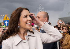 Denmark Princess Mary Stock Photo