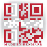 Denmark QR Royalty Free Stock Photos
