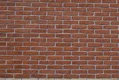 DENMARK_RED BRICKS WALL Stock Photos