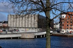 DENMARK`S NATIONAL BANK IN COPENHAGEN DENMARK. Copenhagen/Denmark. 20.FEBUARY 2019. Denmark`s national bank in danish capital Copenhagen Denmark. Photo..Francis stock photos