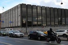DENMARK `S NATIONAL BANK. Copenhagen/Denmark 24.September 2018..Denmark`s National bank in danish capital Copenhagen Denmark. . Photo.Francis Joseph Dean / stock photo