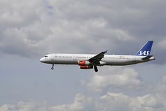 DENMARK_SAS Flights Stock Images