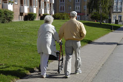 DENMARK_SENIOR COUPLE Stock Photography