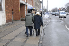 DENMARK_senior couple Stock Images