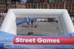 DENMARK_STREET GAMES Royalty Free Stock Photography