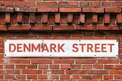 Denmark street Royalty Free Stock Images