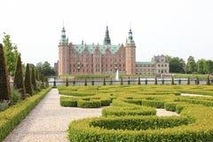 denmark szczelina Frederiksborg Obraz Royalty Free
