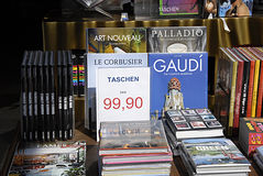 DENMARK_TASCHEN BOOK STORE Royalty Free Stock Photography