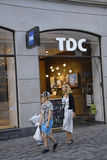 DENMARK_TDC解雇800个人 库存照片