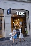 DENMARK_TDC LICENZIANO 800 PERSONALE Immagine Stock