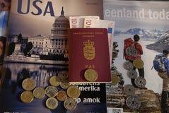 DENMARK_TRAVEL DECUMENTS Στοκ φωτογραφίες με δικαίωμα ελεύθερης χρήσης