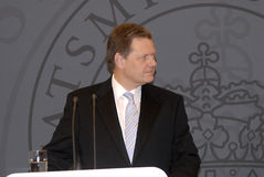 DENMARK_vice prime minister(L) prime minister (R) Royalty Free Stock Photography