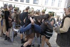 DENMARK_VIKING HAPPENING Stock Photo