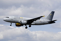 DENMARK_Vueling Flights Stock Image
