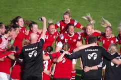 Denmarks celebration Stock Image
